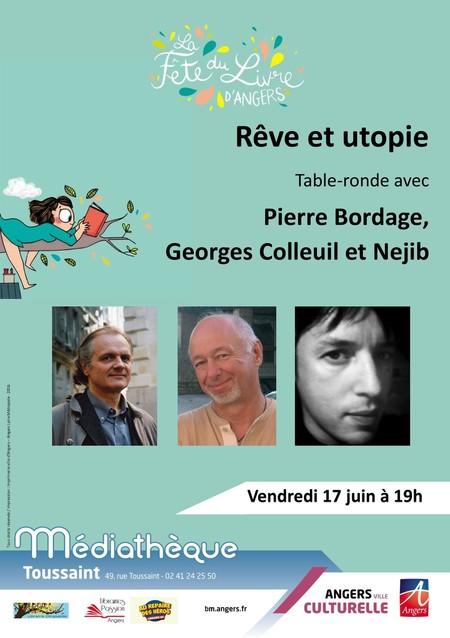Georges Colleuil au Festival du Livre à Angers